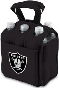 Picnic Time NFL Oakland Raiders Six Pack Holder