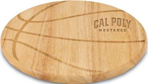 Picnic Time Cal Poly Basketball Cutting Board