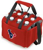 Picnic Time NFL Houston Texans 12 Pack Holder