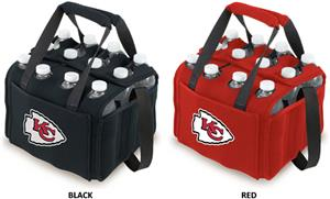 Picnic Time NFL Kansas City Chiefs 12 Pack Holder