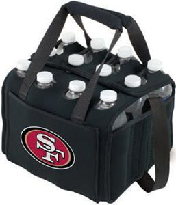 Picnic Time NFL San Francisco 49ers 12 Pack Holder