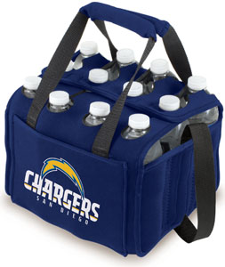 Picnic Time NFL San Diego Chargers 12 Pack Holder