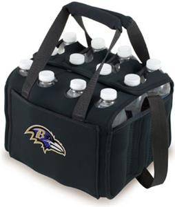 Picnic Time NFL Baltimore Ravens 12 Pack Holder