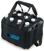 Picnic Time NFL Carolina Panthers 12 Pack Holder
