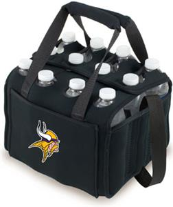 Picnic Time NFL Minnesota Vikings 12 Pack Holder