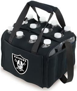 Picnic Time NFL Oakland Raiders Twelve Pack Holder