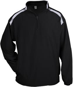 Badger Competitor Long Sleeve Pullover Windshirts