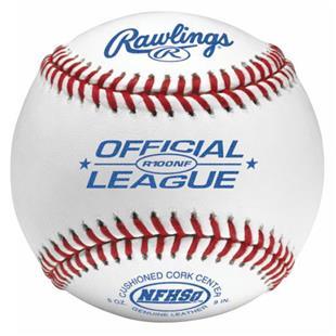 Rawlings R100NF Official League Baseballs-NFHS