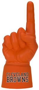 Foam Finger NFL Cleveland Browns Combo