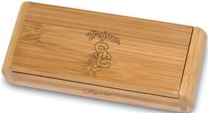 Picnic Time USC Trojans Elan-Bamboo Corkscrew