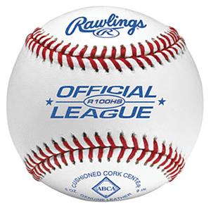 Rawlings R100HS Official League Baseballs-ABCA