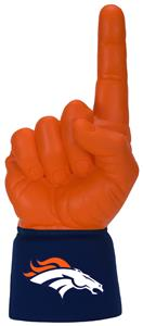 Foam Finger NFL Denver Broncos Combo