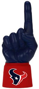 Foam Finger NFL Houston Texans Combo