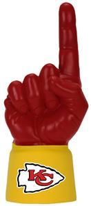Foam Finger NFL Kansas City Chiefs Combo