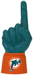 Foam Finger NFL Miami Dolphins Combo