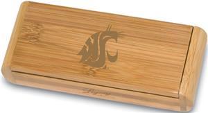 Picnic Time Washington State Elan-Bamboo Corkscrew
