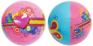 Vizari Hearts & Swirls Mini Trainer Soccer Balls