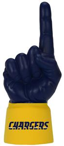 Foam Finger NFL San Diego Chargers Combo