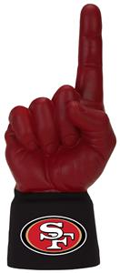 Foam Finger NFL San Francisco 49ers Combo