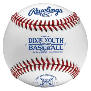 Rawling Youth RDYB1 Dixie League Baseballs
