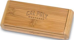 Picnic Time Cal Poly Elan-Bamboo Corkscrew