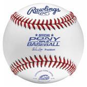 Rawlings Youth RPLB Pony League Baseballs