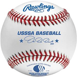 Rawlings ROLBUSSSA Official USSSA Baseballs