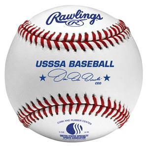 Rawlings ROLB1USSSA Official USSSA Baseballs