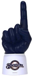 Foam Finger MLB Milwaukee Brewers Combo