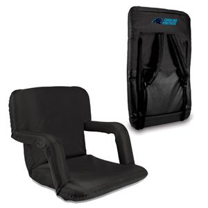 Picnic Time NFL Carolina Panthers Ventura Recliner