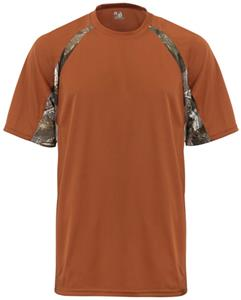Badger B-Core Hook S/S Performance Camo Tees