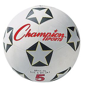 Champion Official Rubber 2 Ply Soccer Balls