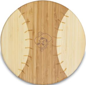 Picnic Time Oklahoma State Homerun! Cutting Board