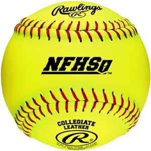 "Rawlings 12"" NFHS Fast Pitch Softballs"