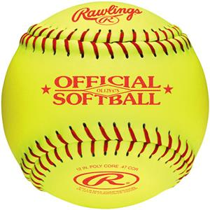 "Rawlings 12"" Fast Pitch Practice Softball OL12Y47S"