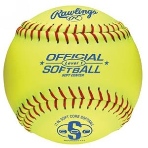 "Rawlings 11"" Official Level 1 Training Softballs"