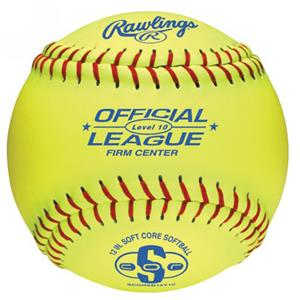 "Rawlings 12"" Official Level 10 Training Softballs"