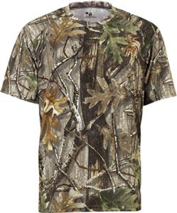 Badger Youth B-Core S/S Performance Camo Tees