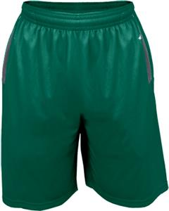 Badger Colorblock Defender Pocketed Short