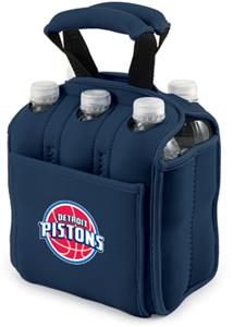 Picnic Time NBA Pistons 6-Pack Beverage Holder