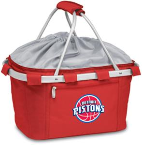 Picnic Time NBA Pistons Insulated Metro Basket