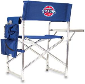 Picnic Time NBA Pistons Folding Chair w/ Strap