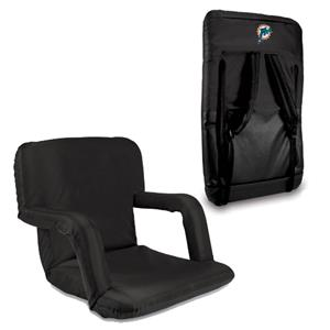 Picnic Time NFL Miami Dolphins Ventura Recliner