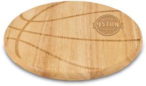 Picnic Time NBA Pistons Basketball Cutting Board