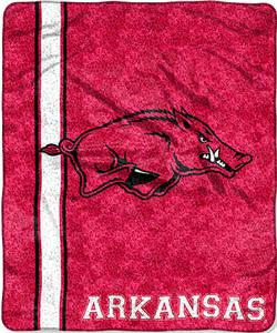 Northwest NCAA Arkansas Jersey Sherpa Throw