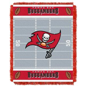 Northwest NFL Tampa Bay Buccaneers Baby Throws