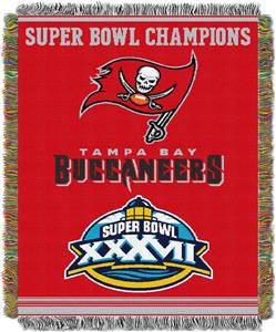 "Northwest NFL Tampa Bay Buccaneers 48""x60"" Throws"