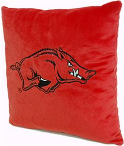 Northwest NCAA Univ. of Arkansas Plush Pillow