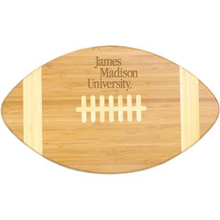 Picnic Time James Madison Football Cutting Board