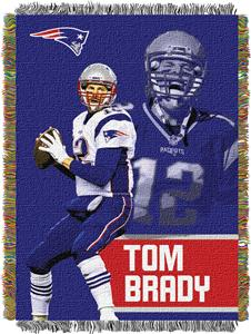 Northwest NFL Patriots Tom Brady Players Throws - Fan Gear